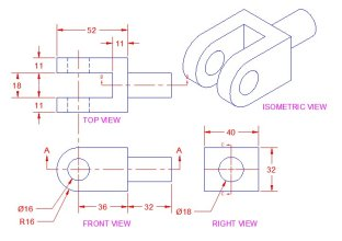 how to read isometric drawing