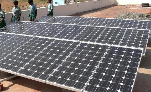 report on solar power plant